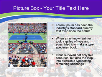 Uniprix Stadium PowerPoint Template - Slide 13