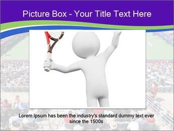 Uniprix Stadium PowerPoint Template - Slide 15