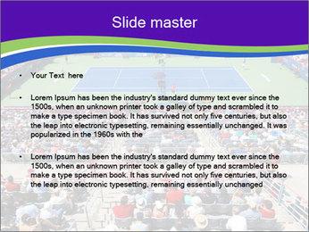 Uniprix Stadium PowerPoint Template - Slide 2
