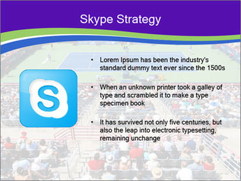 Uniprix Stadium PowerPoint Template - Slide 8