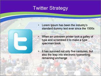 Uniprix Stadium PowerPoint Template - Slide 9