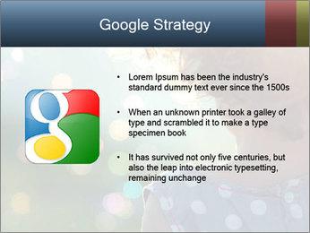 Little girl PowerPoint Template - Slide 10
