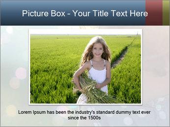 Little girl PowerPoint Template - Slide 16