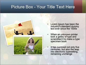 Little girl PowerPoint Template - Slide 20