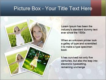 Little girl PowerPoint Template - Slide 23