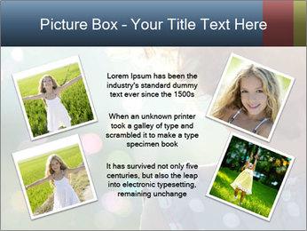 Little girl PowerPoint Template - Slide 24