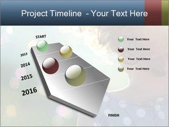 Little girl PowerPoint Template - Slide 26