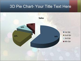 Little girl PowerPoint Template - Slide 35