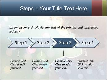 Little girl PowerPoint Template - Slide 4