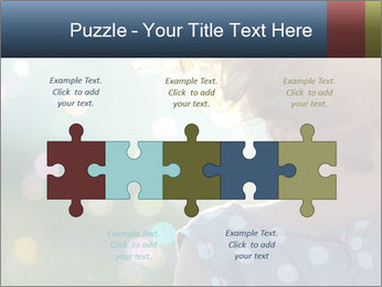 Little girl PowerPoint Template - Slide 41