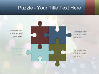 Little girl PowerPoint Template - Slide 43