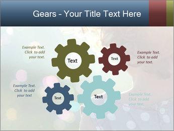 Little girl PowerPoint Template - Slide 47