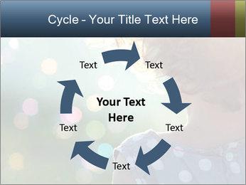Little girl PowerPoint Template - Slide 62