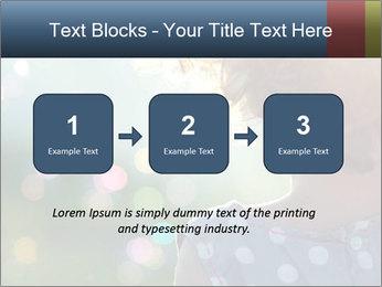 Little girl PowerPoint Template - Slide 71