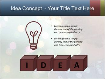 Little girl PowerPoint Template - Slide 80