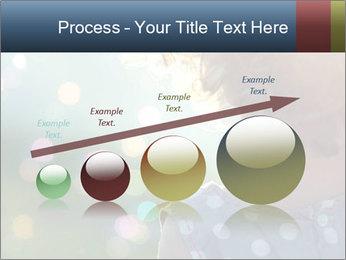 Little girl PowerPoint Template - Slide 87
