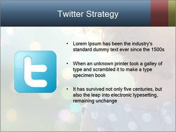 Little girl PowerPoint Template - Slide 9