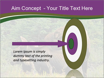 Moose Cow PowerPoint Template - Slide 83