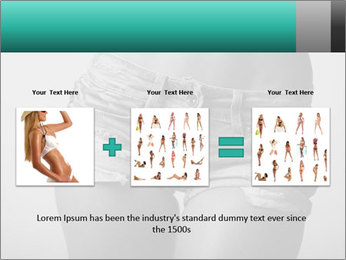 Woman body PowerPoint Template - Slide 22