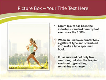 Running in city PowerPoint Templates - Slide 13