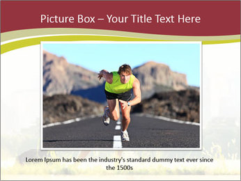 Running in city PowerPoint Templates - Slide 15