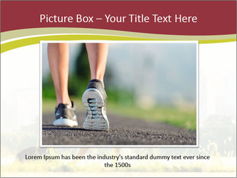 Running in city PowerPoint Templates - Slide 16