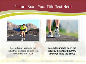 Running in city PowerPoint Templates - Slide 18