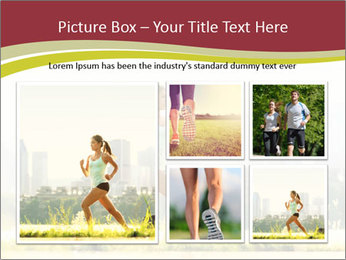Running in city PowerPoint Templates - Slide 19