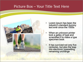 Running in city PowerPoint Templates - Slide 20
