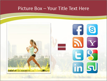 Running in city PowerPoint Templates - Slide 21