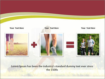 Running in city PowerPoint Templates - Slide 22