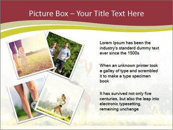 Running in city PowerPoint Templates - Slide 23
