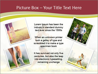 Running in city PowerPoint Templates - Slide 24