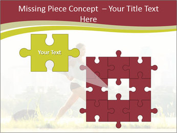 Running in city PowerPoint Templates - Slide 45