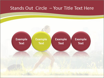 Running in city PowerPoint Templates - Slide 76