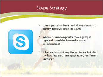 Running in city PowerPoint Templates - Slide 8