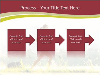Running in city PowerPoint Templates - Slide 88