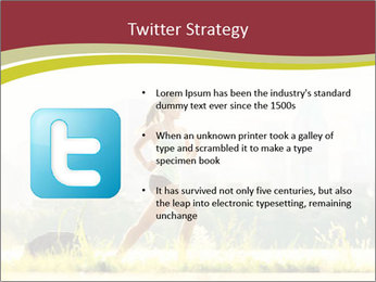 Running in city PowerPoint Templates - Slide 9