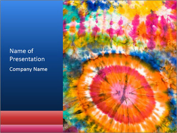 Abstract pattern PowerPoint Template - Slide 1