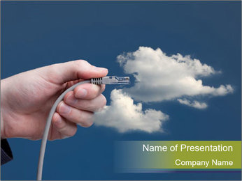 Cloud computing concept PowerPoint Template