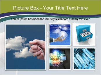 Cloud computing concept PowerPoint Templates - Slide 19