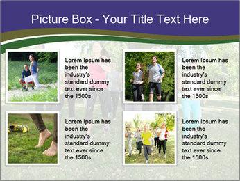 Runners PowerPoint Template - Slide 14