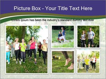 Runners PowerPoint Template - Slide 19