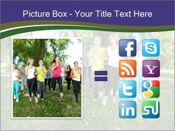 Runners PowerPoint Template - Slide 21