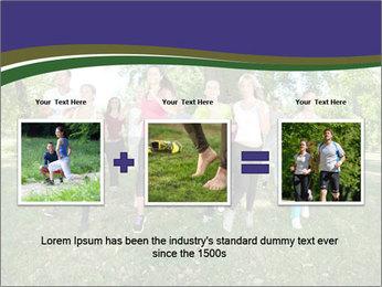 Runners PowerPoint Template - Slide 22