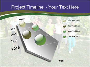 Runners PowerPoint Template - Slide 26
