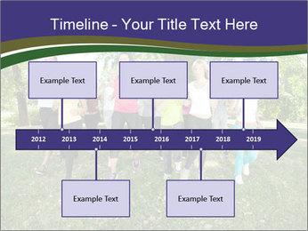 Runners PowerPoint Template - Slide 28