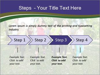 Runners PowerPoint Template - Slide 4