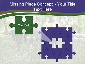 Runners PowerPoint Template - Slide 45