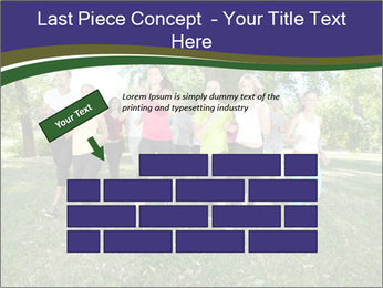 Runners PowerPoint Template - Slide 46